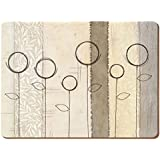 "Creative Tops ""Natural Simplicity Contemporary"" Placemats, Set of 6"