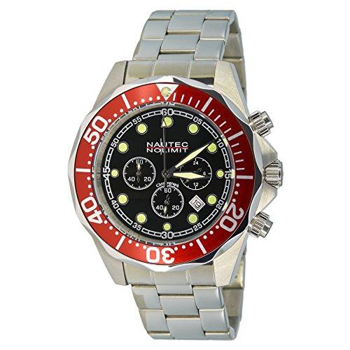 nautec-no-limit-gents-watch-deep-sea-chronograph-xl-bravo-quartz-stainless-steel-ds-b-ststrdbk-qz2