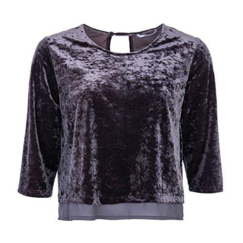 Tiffosi -  T-shirt - Tie-Dye - Maniche a 3/4 - Donna Grigio