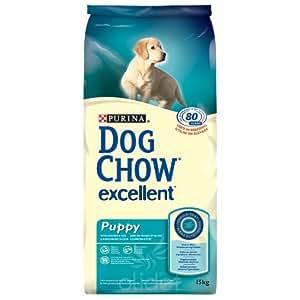 Dog Chow - Dog Chow Excellent Puppy Poulet et Riz Contenances : 15 kg
