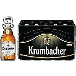20 x Krombacher Pils 0,33l, tabla de botella 4,8%vol. caso original
