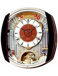Seiko QXM250B Melody in Motion Clock(Multicolor) -(48 cm(H) x 45 cm(W) x 12 cm(D))