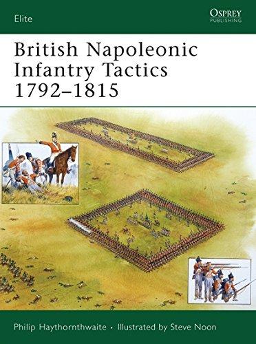 British Napoleonic Infantry Tactics 1792-1815 (Elite) por Philip Haythornthwaite