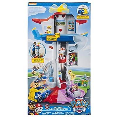 Paw Patrol Torre de vigilancia de juguete 6040102, serie animada La Patrulla canina por Spin Master Toys Ltd