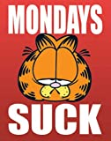 Empireposter - Garfield - Mondays Suck - Größe (cm), ca. 40x50 - Mini-Poster