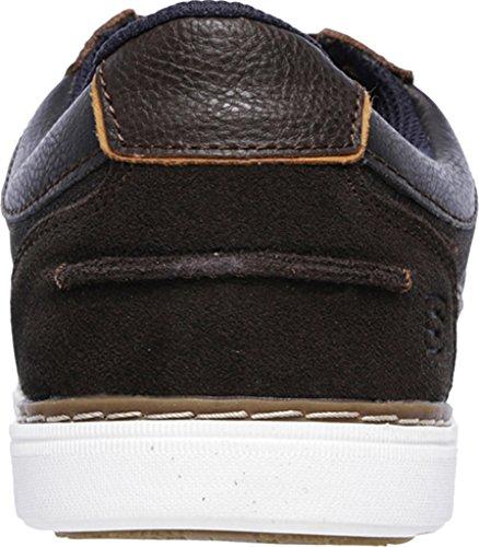 Skechers lanson-reldon, sneaker uomo, Brown