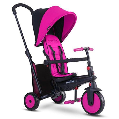Smartrike - 5021200 - Tricycle évolutif Pliant smarTfold 300 Plus - Rose