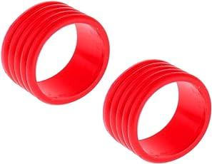 MagiDeal 2 Stück Griffband Abschlussgummi für Badminton Tennisschläger