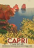 World of Art Vintage Travel Italien für Capri C1948von