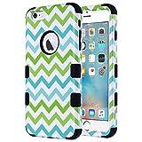 ULAK iPhone 6 Plus Case, iPhone 6S Plus Case, 3 in 1 Hybrid