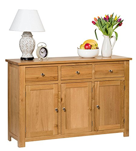 waverly-oak-3-door-3-drawer-large-sideboard-in-light-oak-finish-wide-storage-dresser-cupboard-cabine