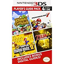 Nintendo 3DS Player's Guide Pack: Prima Official Game Guide: Animal Crossing: New Leaf - Mario Kart 7 - New Super Mario Bros. 2 - The Legend of Zelda: A Link Between Worlds by Prima Games (2014-08-05)