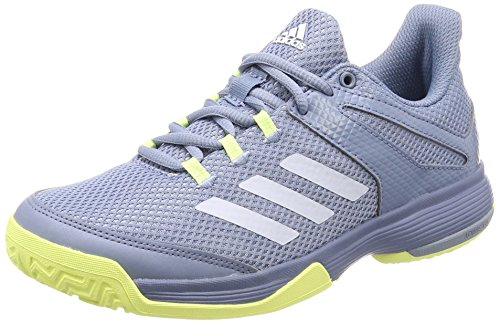 low priced 62f48 75a6a adidas Unisex-Kinder Adizero Club Tennisschuhe, Weiß Ftwbla 000, 38 EU