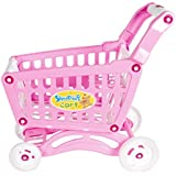 Radhe Enterprice Shopping Cart Toy With Fruits And Vegetables For Kids 56 Pcs