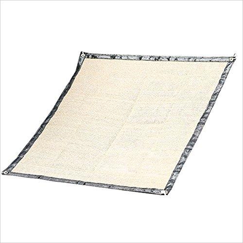 NAN Pare-soleils Net de Jardinage de Protection Solaire 75% de taux d'ombrage polyéthylène pergola Couverture cryptage Ventilation Voiles d'ombrage (Taille : 0.9 * 2m)