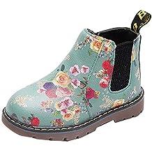 dc8fcf8bd Botas Militares de Nieve Bajos para Niñas Niños Pelo Invierno PAOLIAN  Zapatos Piel Bebés Niñas Primeros