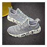 YAYADI Schuhe Herren Sneakers Camouflage Mens Schuhe Casual Atmungsaktiv Männer Schuhe Qualität Gewebte Outdoor Schuhe Jogging Fitness Schuhe Leicht, 12.
