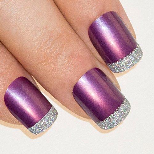 bling-art-false-nails-french-manicure-purple-4-joy-full-cover-medium-tips-uk