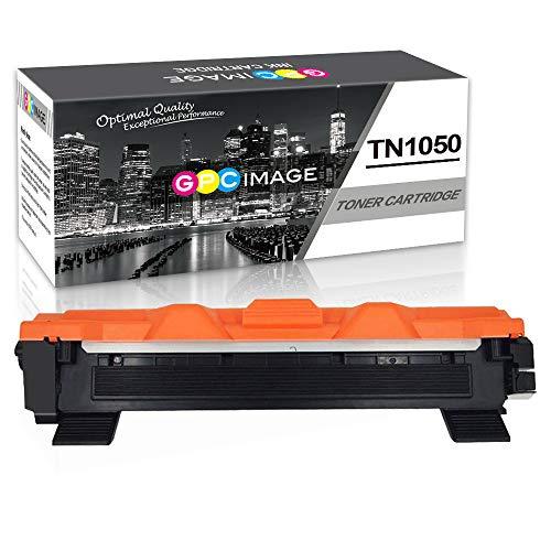 GPC Image TN1050 TN-1050 Cartucce Toner sostituzione Compatibili per Brother HL-1110 DCP-1510 HL-1210W DCP-1610W HL-1112 MFC-1810 HL-1212W MFC-1910W DCP-1612W DCP-1512 Stampante (Nero,1-Pacco)