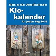 Abreißkalender Klokalender 2016