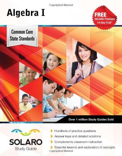 Common Core High School Mathematics II: SOLARO Study Guide (Common Core Study Guides) by Castle Rock Research Corp. (2014-01-01)