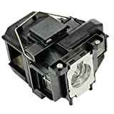 #5: Mogobe Elplp67 V13h010l67 Compatible Projector Replacement Lamp with Housing for Epson EB-S02 EB-S11 EB-S11H EB-S12 EB-SXW12 EB-SXW11 EB-W02 EB-W110 EB-W12 EB-W16 EB-W16SK EB-X02 projector