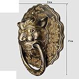 Estilo Chino,Antiguo,Manija De Bronce De La Aldaba La Puerta/Dragón Puerta Anillo Del Círculo/Manija De La Puerta Del Viejo Estilo-A