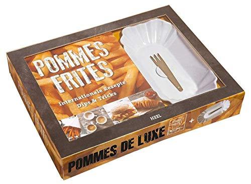 Pommes de luxe, (inkl.  Porzellanschale und Picker)