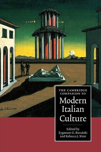 The Cambridge Companion to Modern Italian Culture Paperback (Cambridge Companions to Culture)