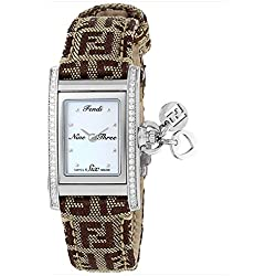 Fendi Ladies Watch ID Analog Casual Quartz Watch F718242DC