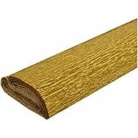 5 Rollen wasserfestes Krepppapier gold 50x250 cm wasserfest