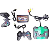 Pacificdeals 8 Bit TV Video Game With 2 Free Game Cassette Great Quality - Black