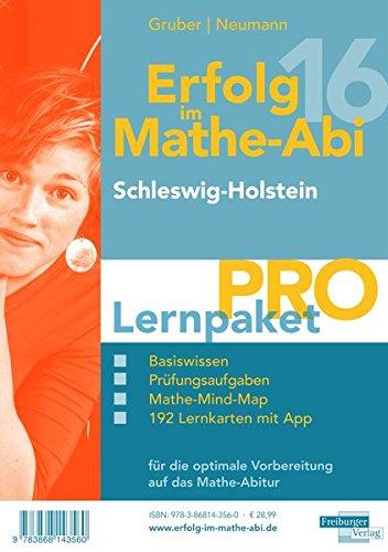 Erfolg im Mathe-Abi 2016 Lernpaket Pro Schleswig-Holstein: mit der Original Mathe-Mind-Map