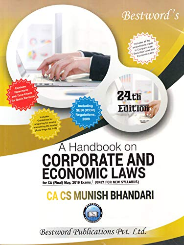 A Handbook on Corporate And Economic Laws (For CA (Final) May, 2019 Examination/ Only For New Syllabus)