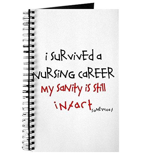 CafePress–Retired Krankenschwester–Spiralbindung Journal Notebook, persönliches Tagebuch, Aufgabe - Lb 60 Papier