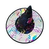 Quaan Erwachsene Unisex Zauber Modern Damen Herren Hexe Abdeckung Zum Halloween Kostüm Zubehörteil Flaum Solide Abdeckung niedlich Elegant Party Karneval Halloween Kostüm Beiläufig Deckel komisch