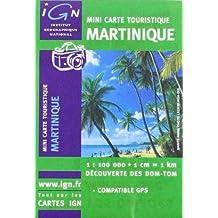 Carte routière : Mini Martinique