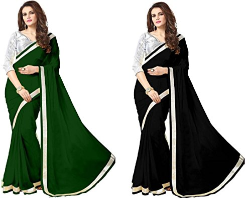 Sarees (Women's Clothing Saree For Women Latest Design Chiffon Sarees Designer Blouse Wear New Collection in Latest With Blouse Free Size Saree For Women Party Wear Offer Sarees With Blouse Piece)