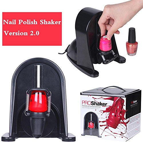 Nagellack Schüttelmaschine 360 Grad Professional Gel Flasche Shaker Nagellack Shaker-Maschine Trennlack Oszillator Lack zur Verfestigung