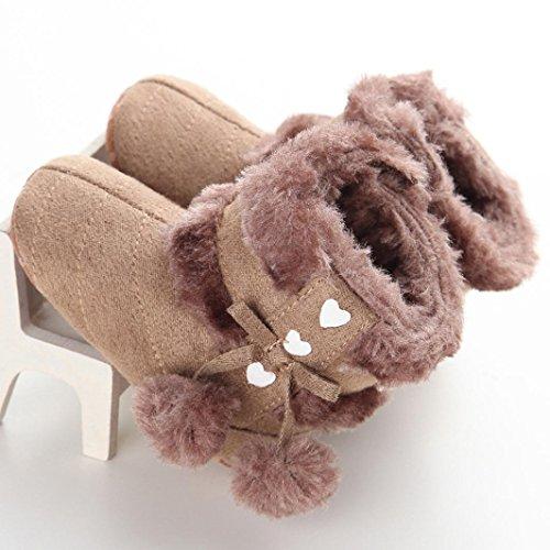 weiche Sohle Schuhe weiche Babyschuhe Gelb Stiefel Jungen 12 Schneestiefel Hunpta Kleinkind M盲dchen Baby Krippe Khaki Lauflernschuhe xwq8Unx0Wv