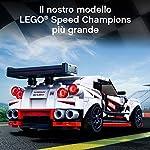 LEGO-Speed-Champions-Nissan-GT-R-NISMO-con-Minifigure-Modello-Realistico-e-Molto-Dettagliato-della-Famosa-Auto-Sportiva-Set-di-Costruzioni-per-Bambini-Appassionati-e-Collezionisti-76896