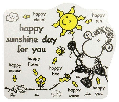 Preisvergleich Produktbild Sheepworld 41792 - PC Mausmatte Happy Sunshine, mehrfarbig