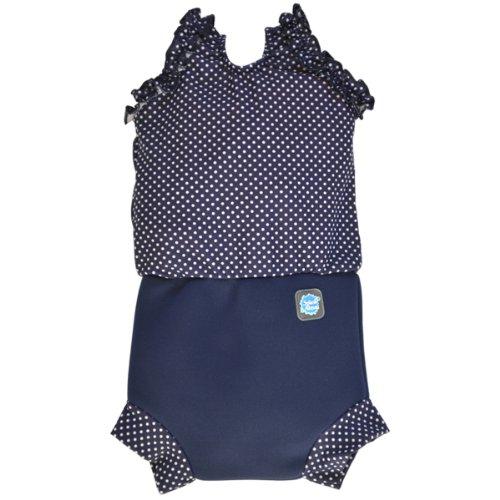 Splash About Baby Nappy-Anzug, Marine, 0-4 Monate, CHNNDS (Baby Jungen Schwimmen Kostüme 0 3 Monate)