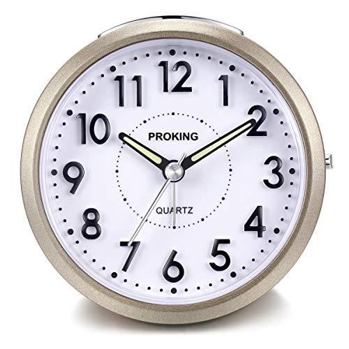Despertador Analógico de Viaje,Reloj de Alarma para Niños Pequeño ...