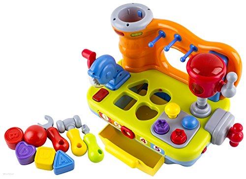 Banco Di Lavoro Chicco : Bambini attrezzi da lavoro banco tool kit musicale play set con