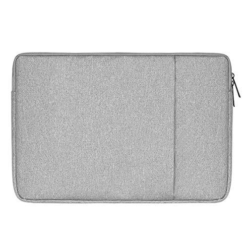 Cikuso wasserdichte Laptop Tasche Hülle Notebook Tasche Für Weiche Rei?Verschluss Hülle Tasche Hülle (Grau + 13,3 Zoll)