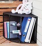 #9: Callas Mesh Collection Corner Desktop Shelf, CA2770