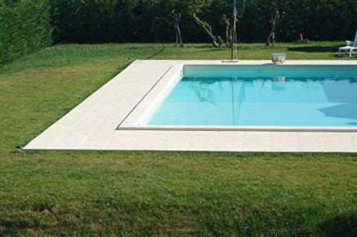 badelaune All Inclusive Schwimmbecken Swimmingpool Rechteckbecken Styropor Pool 8x4x1,5m
