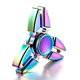 Enlarge toy image: Walwh Aluminum Alloy Fidget Hand Spinner EDC Focus Anxiety Stress Relief Toys - teenage children and family entertainment