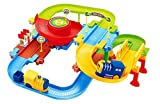 #3: Saffire Classic Toy Train Set with Upper and Lower Level and Bridge, Multi Color